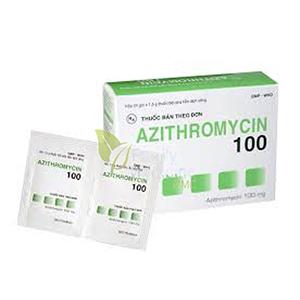 阿奇霉素细粒剂